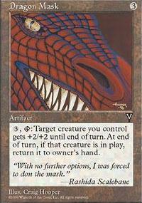 Dragon Mask - Visions