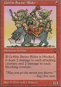 Goblin Swine-Rider - Visions