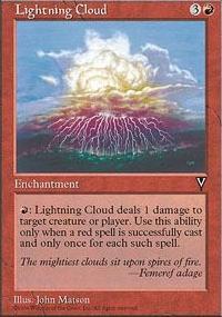 Lightning Cloud - Visions