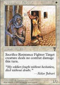 Resistance Fighter - Visions