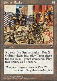 Snake Basket - Visions