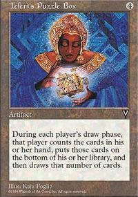 Teferi's Puzzle Box - Visions