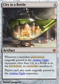 City in a Bottle - Vintage Masters