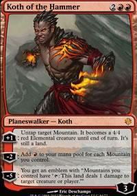 Koth of the Hammer - Venser vs. Koth