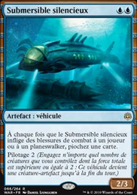 Submersible silencieux -