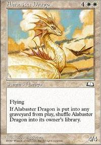 Alabaster Dragon - Weatherlight
