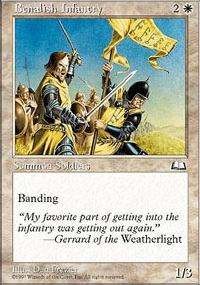 Benalish Infantry - Weatherlight