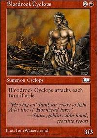 Bloodrock Cyclops - Weatherlight
