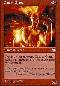 Cinder Giant - Weatherlight