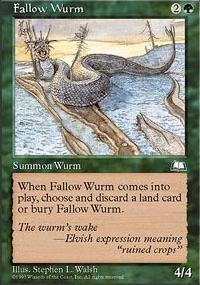 Fallow Wurm - Weatherlight
