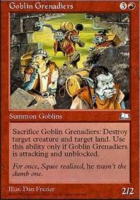 Goblin Grenadiers - Weatherlight