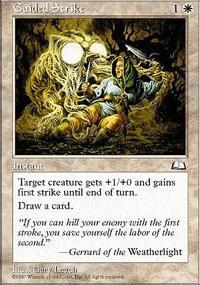 Guided Strike - Weatherlight