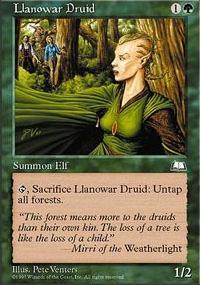 Llanowar Druid - Weatherlight