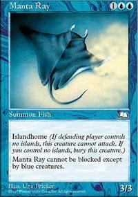 Manta Ray - Weatherlight