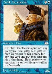 Noble Benefactor - Weatherlight