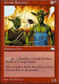 Orcish Settlers - Weatherlight