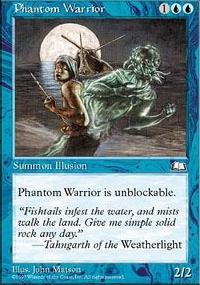 Phantom Warrior - Weatherlight