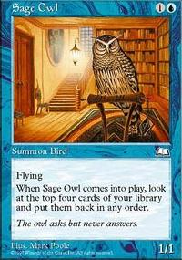 Sage Owl - Weatherlight