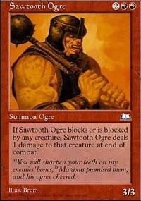 Sawtooth Ogre - Weatherlight