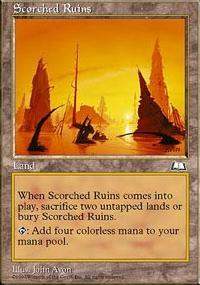 Scorched Ruins - Weatherlight