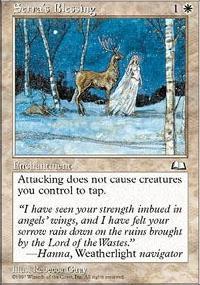 Serra's Blessing - Weatherlight