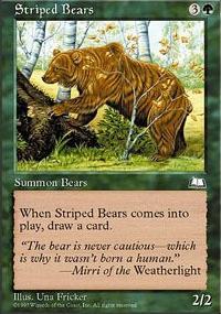 Striped Bears - Weatherlight