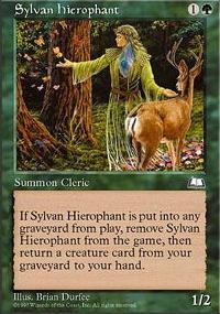 Sylvan Hierophant - Weatherlight