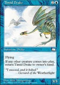 Timid Drake - Weatherlight