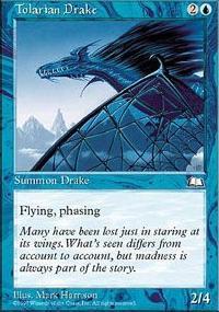 Tolarian Drake - Weatherlight