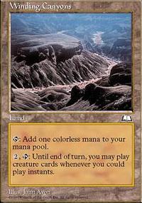 Winding Canyons - Weatherlight