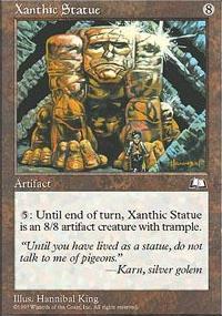 Xanthic Statue - Weatherlight