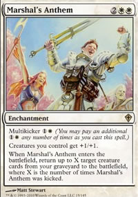Marshal's Anthem - Worldwake