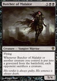 Butcher of Malakir - Worldwake