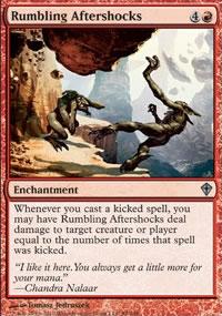 Rumbling Aftershocks - Worldwake