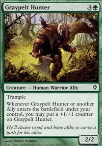 Graypelt Hunter - Worldwake