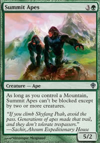 Summit Apes - Worldwake