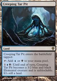 Creeping Tar Pit - Worldwake
