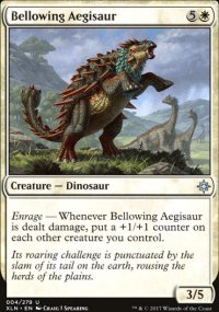 Bellowing Aegisaur - Ixalan