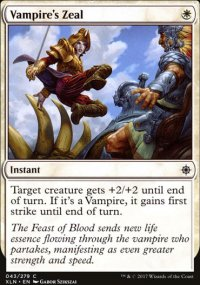 Vampire's Zeal - Ixalan