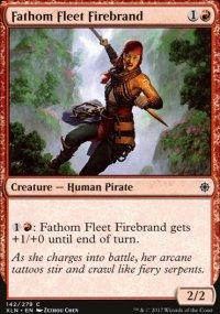 Fathom Fleet Firebrand - Ixalan