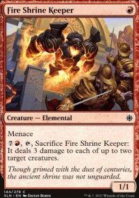 Fire Shrine Keeper - Ixalan