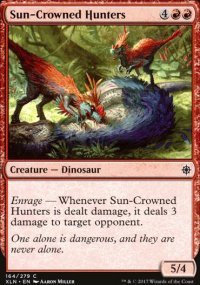 Sun-Crowned Hunters - Ixalan