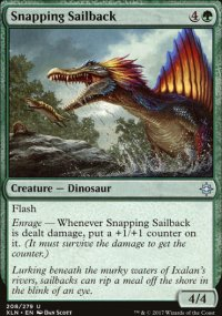 Snapping Sailback - Ixalan