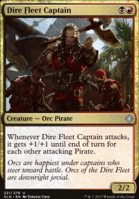 Dire Fleet Captain - Ixalan