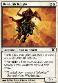 Benalish Knight - 10th Edition
