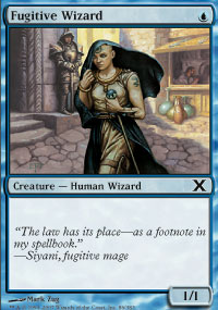 Fugitive Wizard - 10th Edition