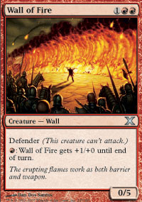 Wall of Fire - 10th Edition