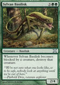 Sylvan Basilisk - 10th Edition