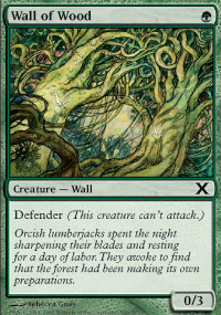 Wall of Wood - 10th Edition