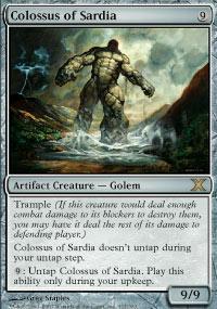 Colossus of Sardia - 10th Edition